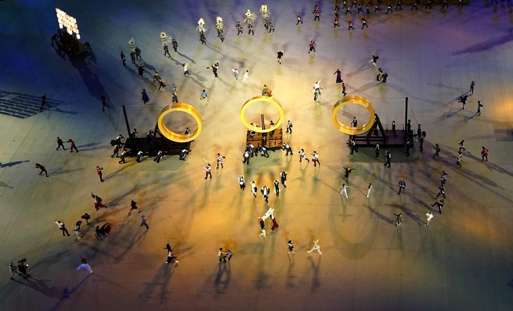2020 Tokyo Olimpiyatları görkemli açılış töreniyle başladı - 82