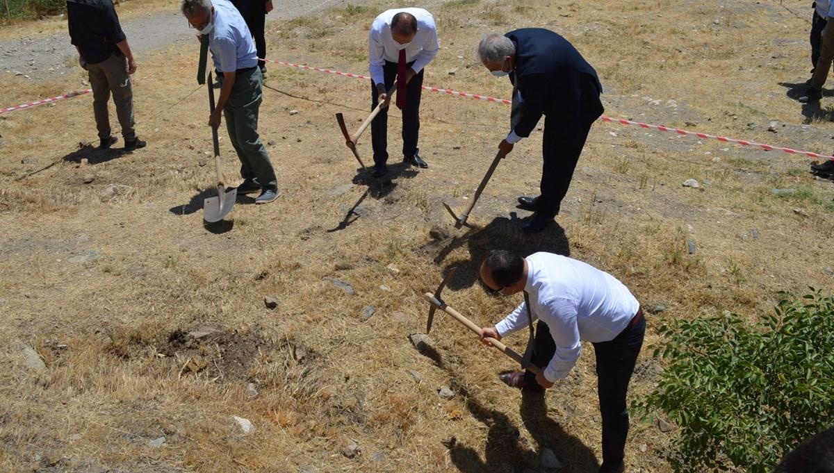 Harput Kalesi'nde kazı çalışmaları başladı