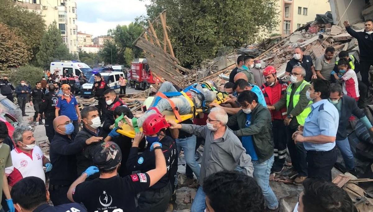 İzmir'deki 6,6'lık deprem: 110 can kaybı, 1027 yaralı (Deprem anından görüntüler)