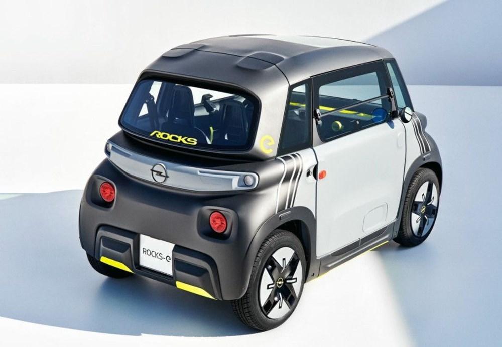 Opel'den elektrikli şehir aracı: Rocks-e - 8