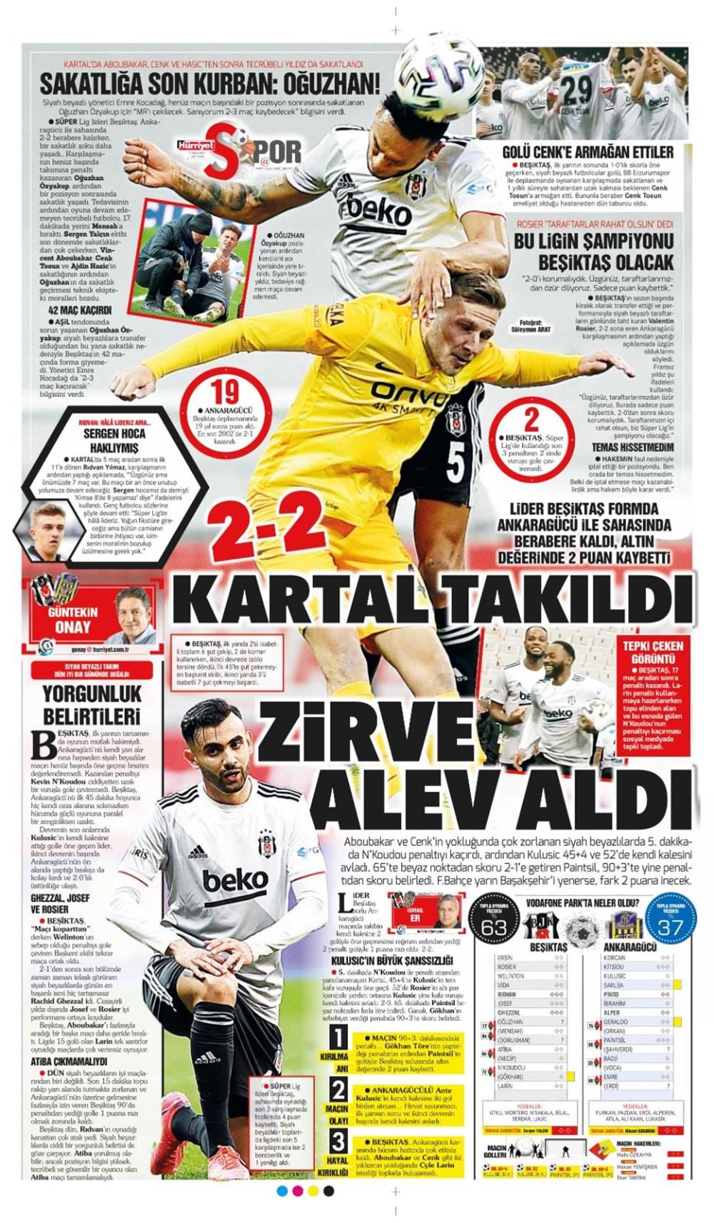 Günün spor manşetleri (17 Nisan 2021) - 12