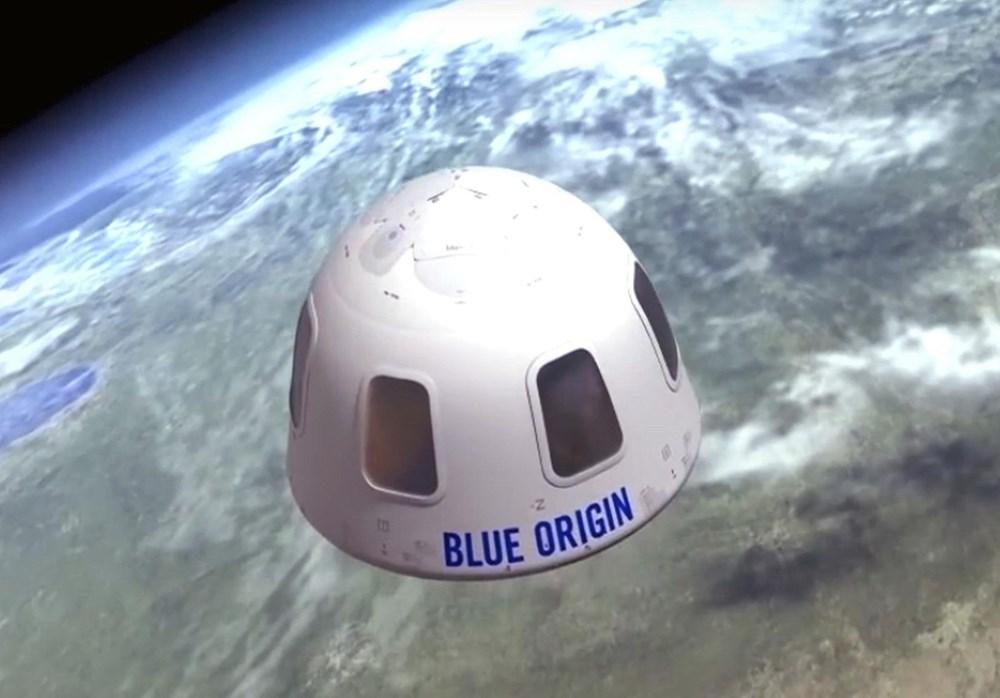 Dünyanın en zengin insanı Jeff Bezos'un uzay yolculuğu gerçekleşti - 12