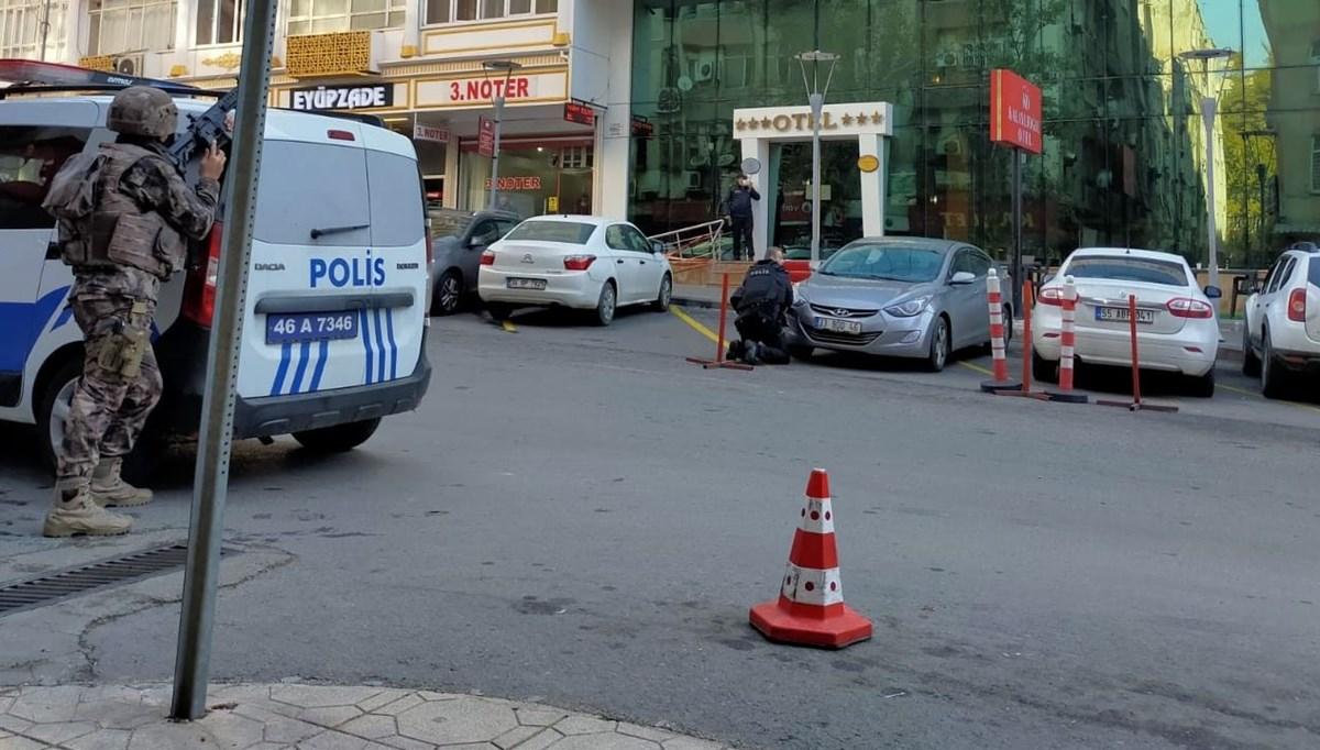 Cinayet zanlısıkendisini almaya gelen polislere ateş açtı: 1 şehit