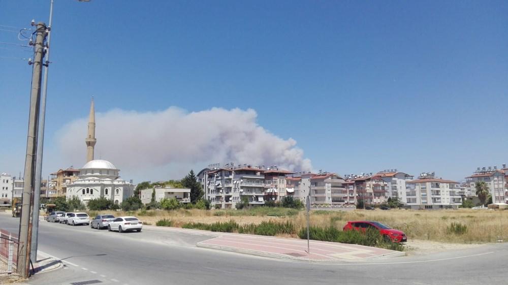 Antalya Manavgat'ta büyük orman yangını - 8