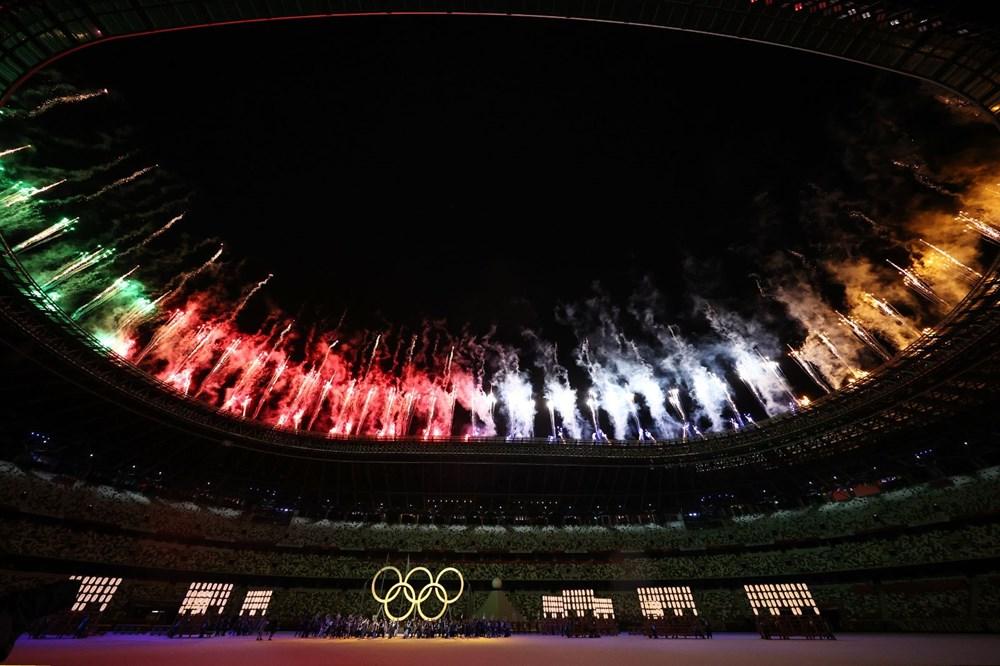 2020 Tokyo Olimpiyatları görkemli açılış töreniyle başladı - 31