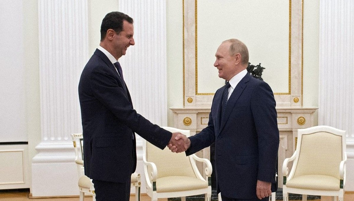 Rusya Devlet Başkanı Putin, Moskova'da Esad ile görüştü