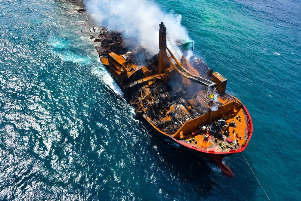 Kimyasal madde taşıyan gemi battı: Sri Lanka çevre felaketiyle karşı karşıya - 7