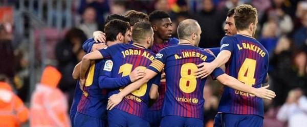 Barcelona rahat kazandı