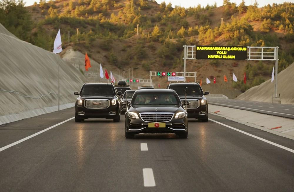 11 tünelli Kahramanmaraş-Göksun yolu açıldı: Süre 39 dakika kısalacak - 11