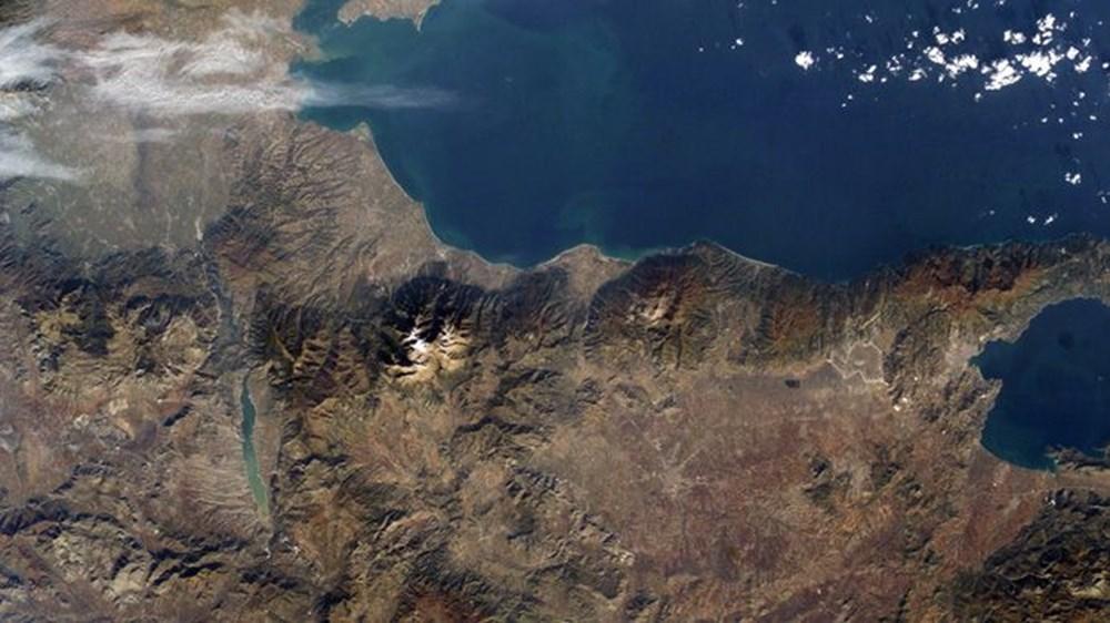 NASA Ankara'dan fotoğraf paylaştı (Astronotların gözünden gezegenimiz) - 28
