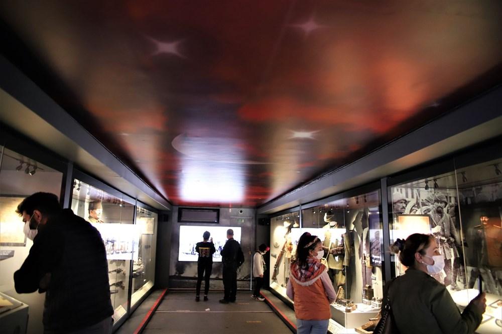 Çanakkale Savaşları Mobil Müzesi'nin 40'ıncı durağı Elazığ oldu - 12
