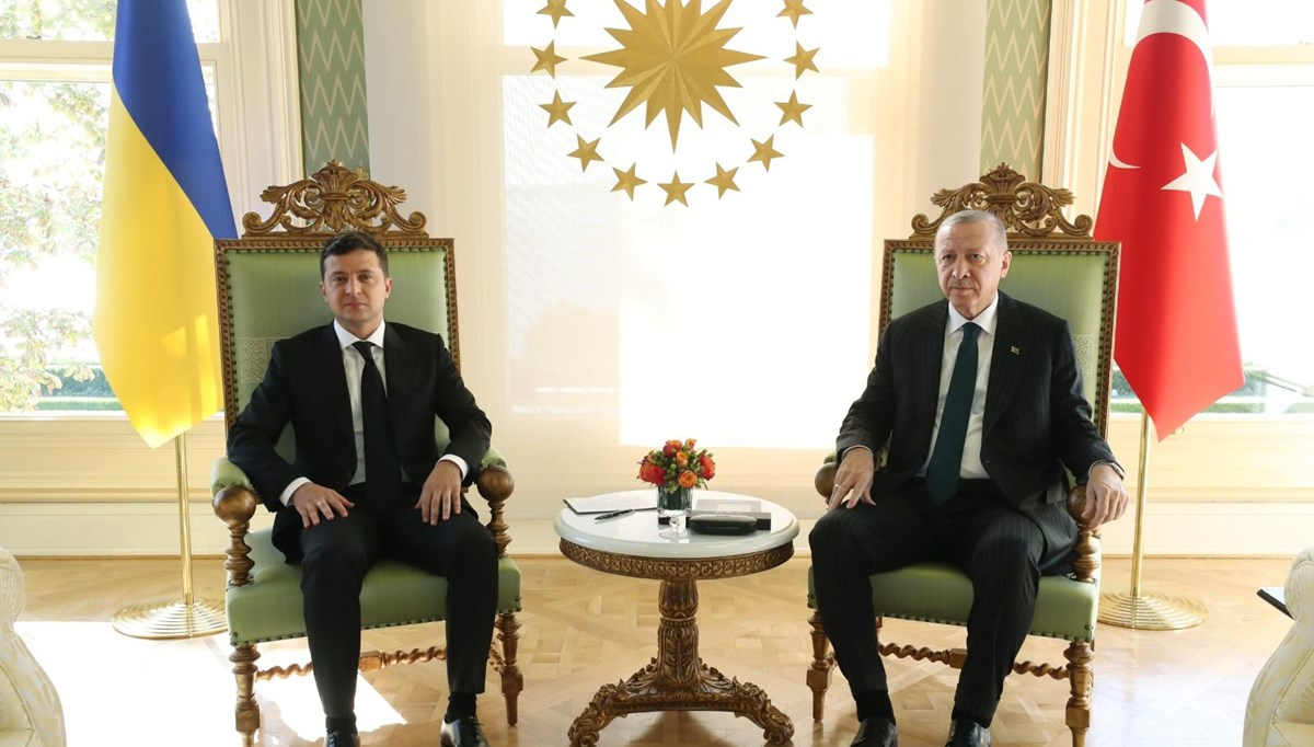 SON DAKİKA HABERİ: Cumhurbaşkanı Erdoğan, Ukrayna Devlet Başkanı Zelenski ile görüşüyor