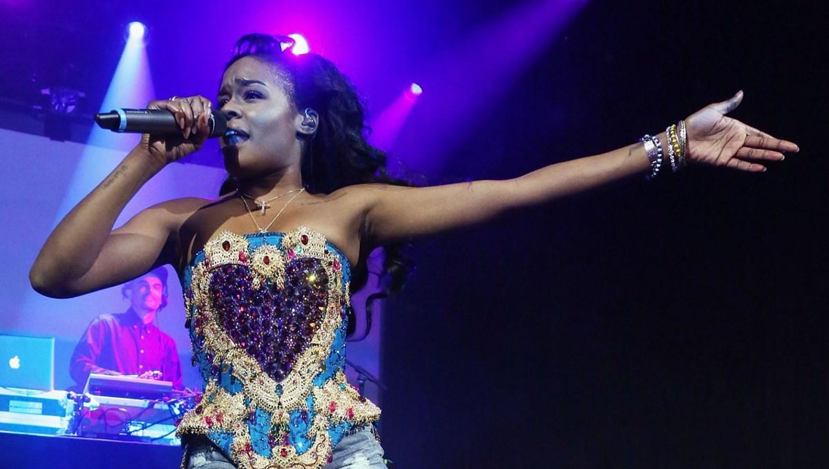 Kedisini yakan şarkıcı Azealia Banks'e tepki