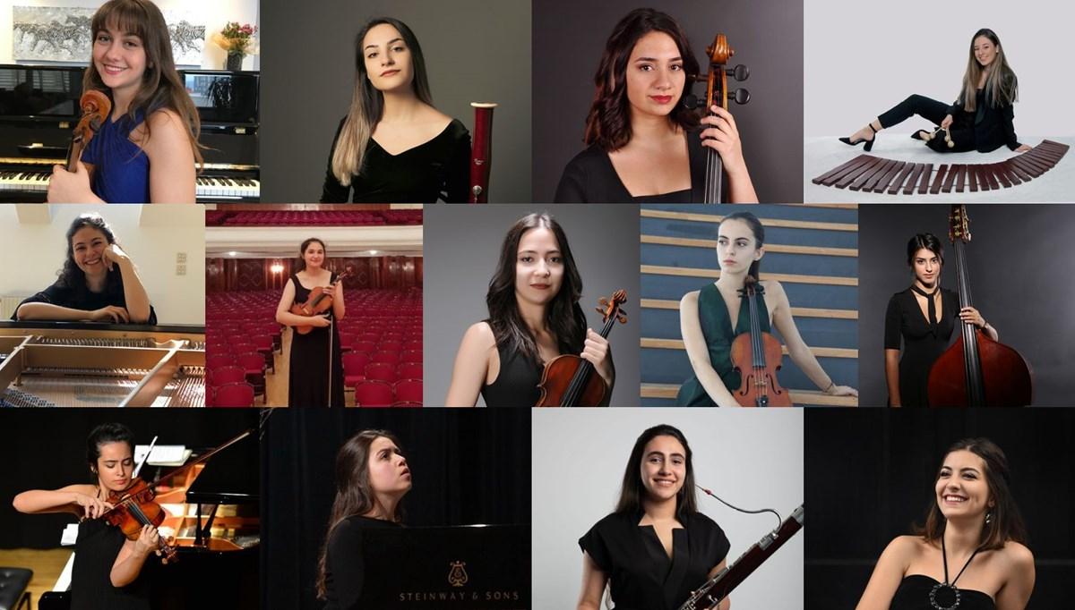 Yarının Kadın Yıldızları olan 13 müzisyen belirlendi