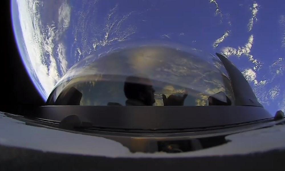 Musk'tan uzayda tuvalet açıklaması: Uzay turistleri döndü - 4