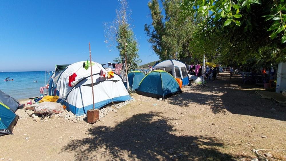 Sahiller çadır kente döndü: Günlüğü 45 liraya tatil - 7