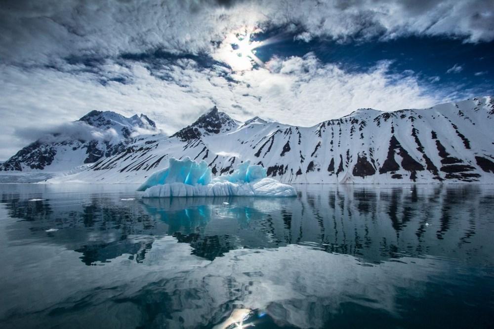 Grönland hızla eriyor: Son 2 günde 17 milyar ton buzul yok oldu - 4