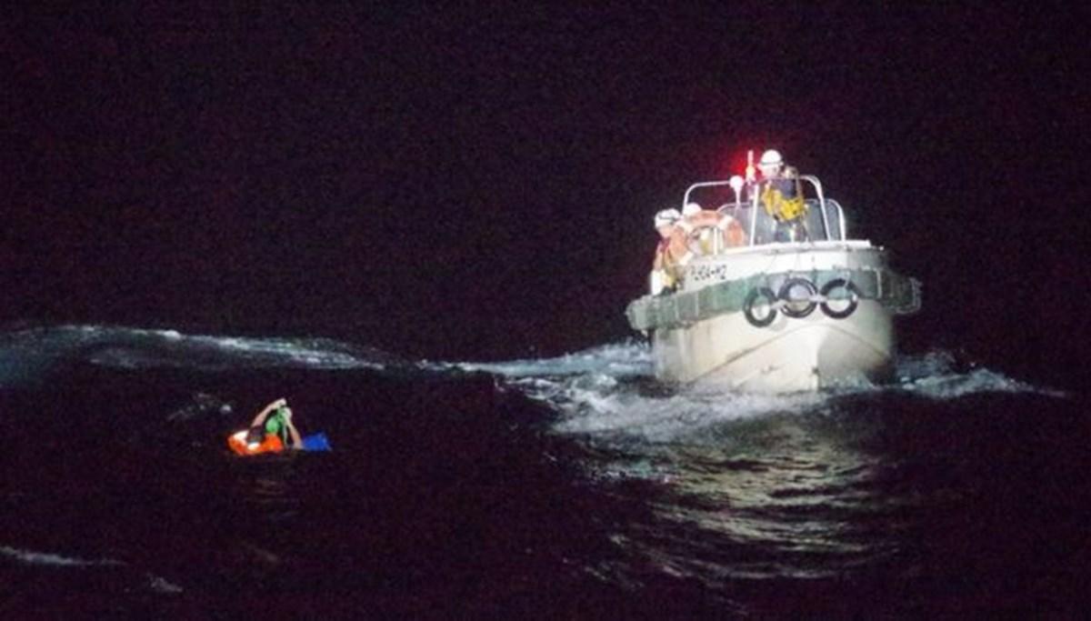 Japonya'yı vuran tayfun sonrası kargo gemisi 43 mürettebatla kayıp