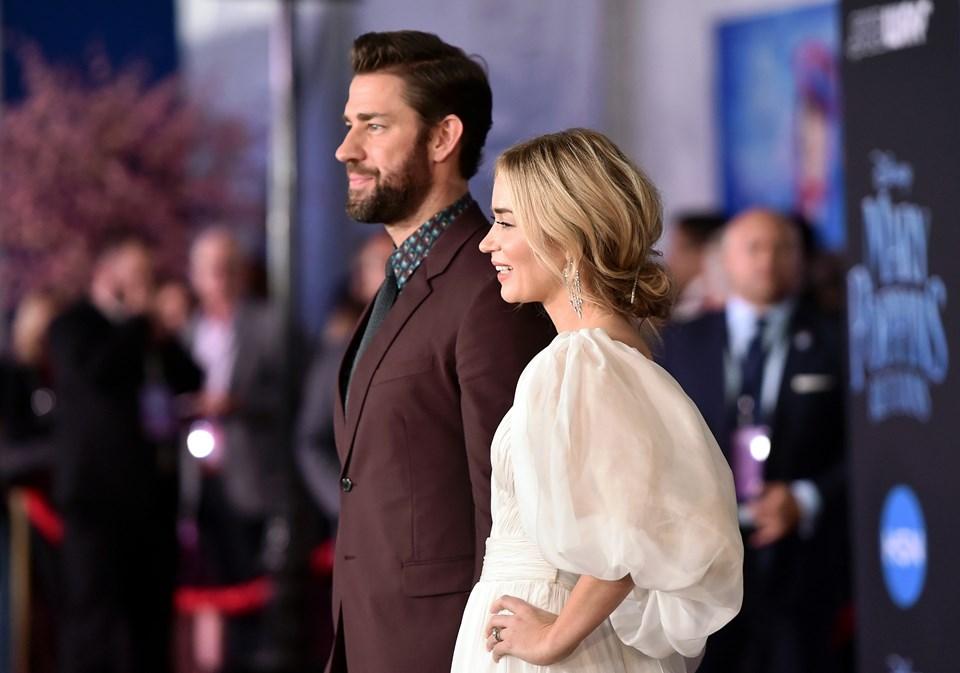 2008'de başlayan ilişkini 2010'da evlilik taçlandıran Krasinski ve Blunt, Hollywood'un en güçlü çiftleri arasında gösteriliyor