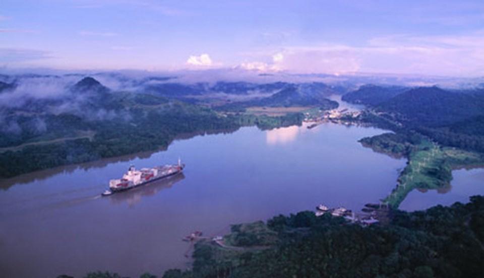 Dünya ticaret hacminin yüzde 5'i Panama kanalı üzerinden gerçekleşiyor.