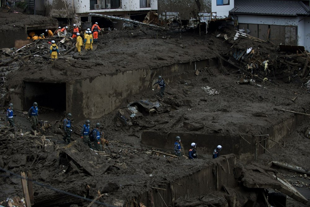 Japonya'daki sel felaketi: Ölü sayısı 7'ye yükseldi - 2