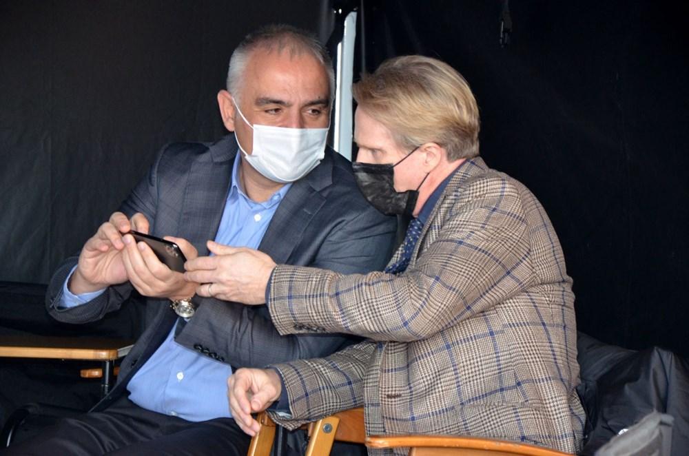 Bakan Mehmet Nuri Ersoy'dan Five Eyes film setine sürpriz ziyaret - 8