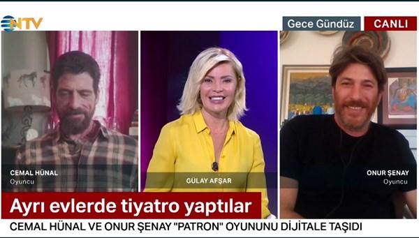 Cemal Hünal ve Onur Şenay NTV'de (Gece Gündüz 27 Nisan 2020)