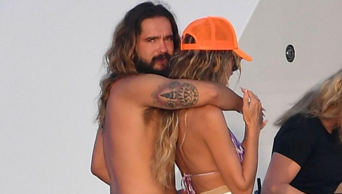 Heidi Klum ve eşinin romantik tatili