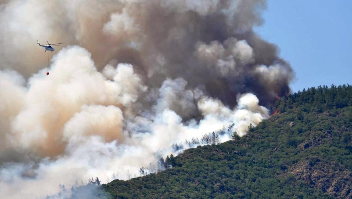Marmaris'teki orman yangınından acı haber