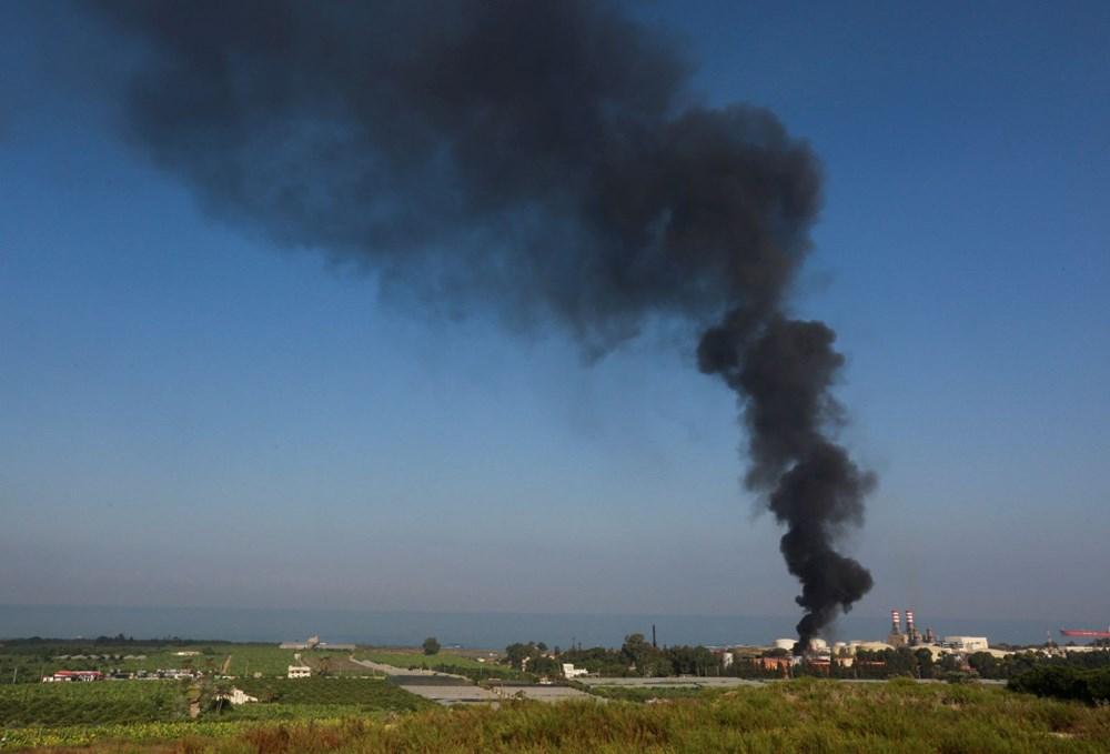 Lübnan'da petrol tesisinde yangın - 4