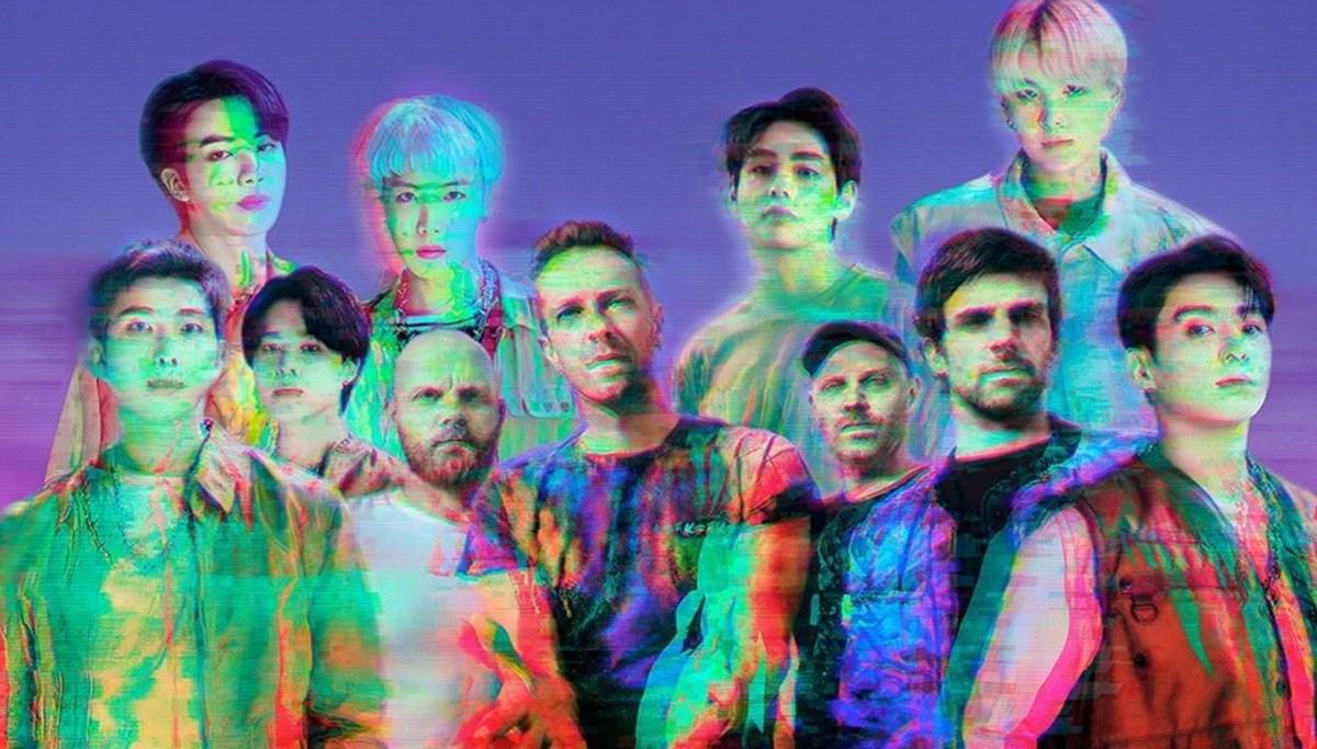 BTS ve Coldplay'den işbirliği
