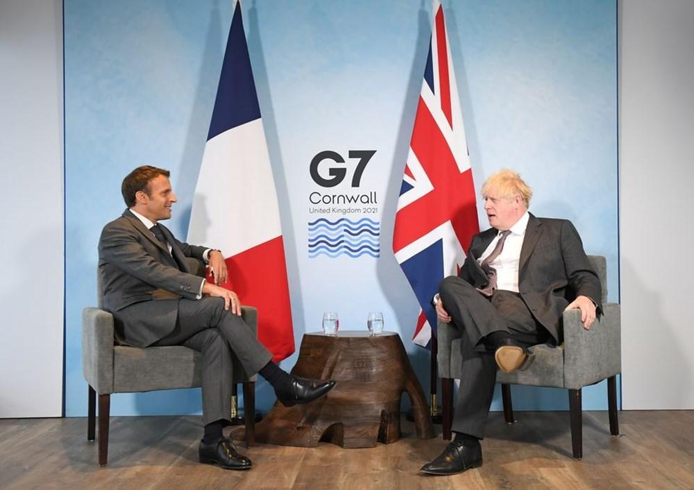 G7 ülkelerinin liderleri İngiltere'de buluştu - 8