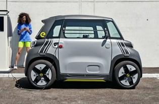 Opel'den elektrikli şehir aracı: Rocks-e