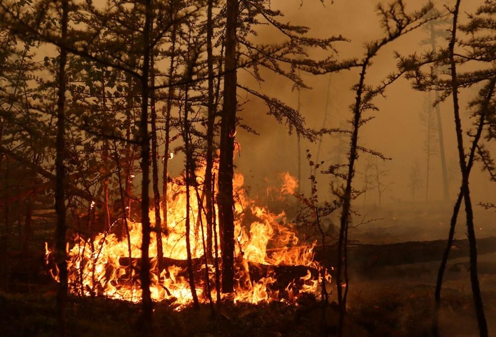 NASA duyurdu: Sibirya'daki yangınların dumanları tarihte ilk kez Kuzey Kutbu'na ulaştı - 2