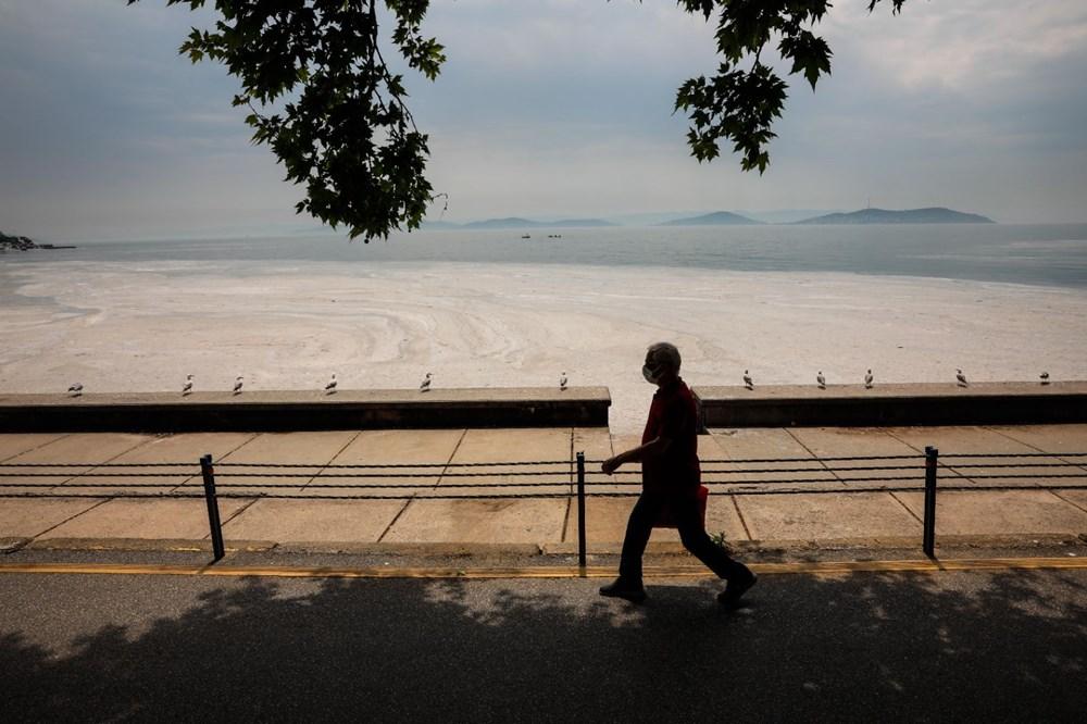 İstanbul'un sahilleri müsilajla doldu: 95 yıldır böyle bir şey görmedim - 10