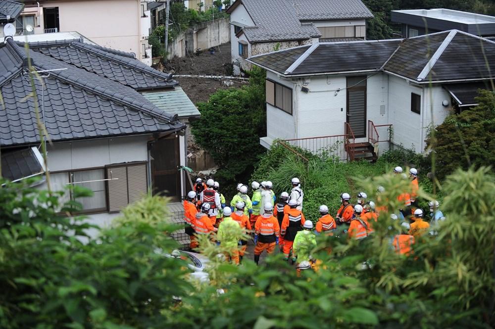 Japonya'daki sel felaketi: Ölü sayısı 7'ye yükseldi - 15