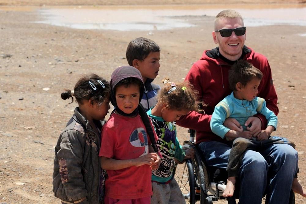 Gezme aşkı engel tanımadı: Hırvat seyyah, tekerlekli sandalyesiyle dünyayı geziyor - 9