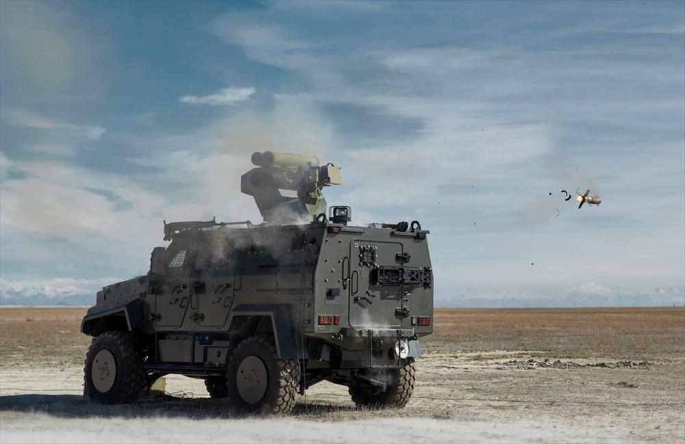 Dijital birliğin robot askeri Barkan göreve hazırlanıyor (Türkiye'nin yeni nesil yerli silahları) - 216