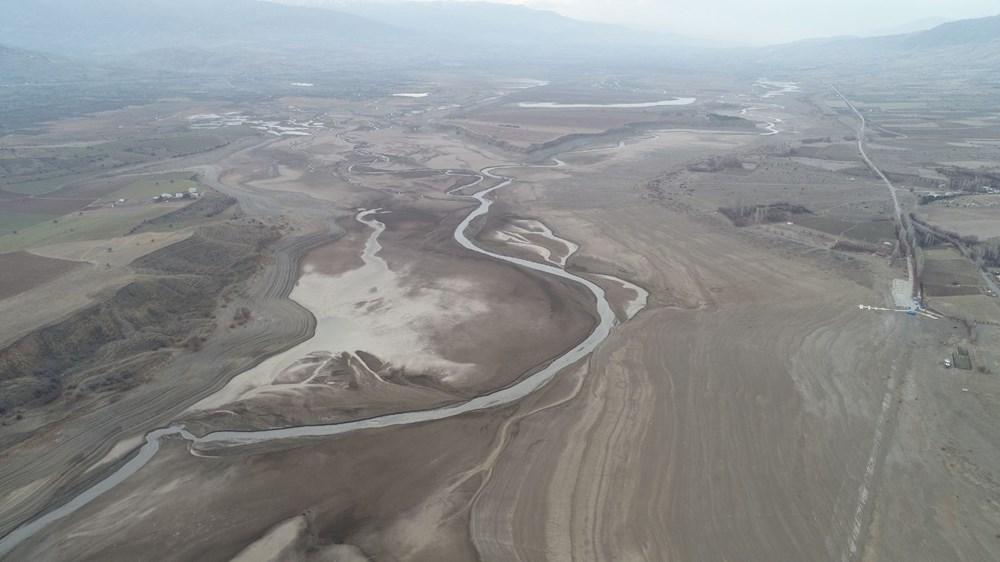 Barajdan geriye nehir yatağı kaldı - 9