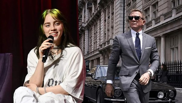 Billie Eilish'in yeni James Bond filmi No Time To Die için bestelediği şarkı