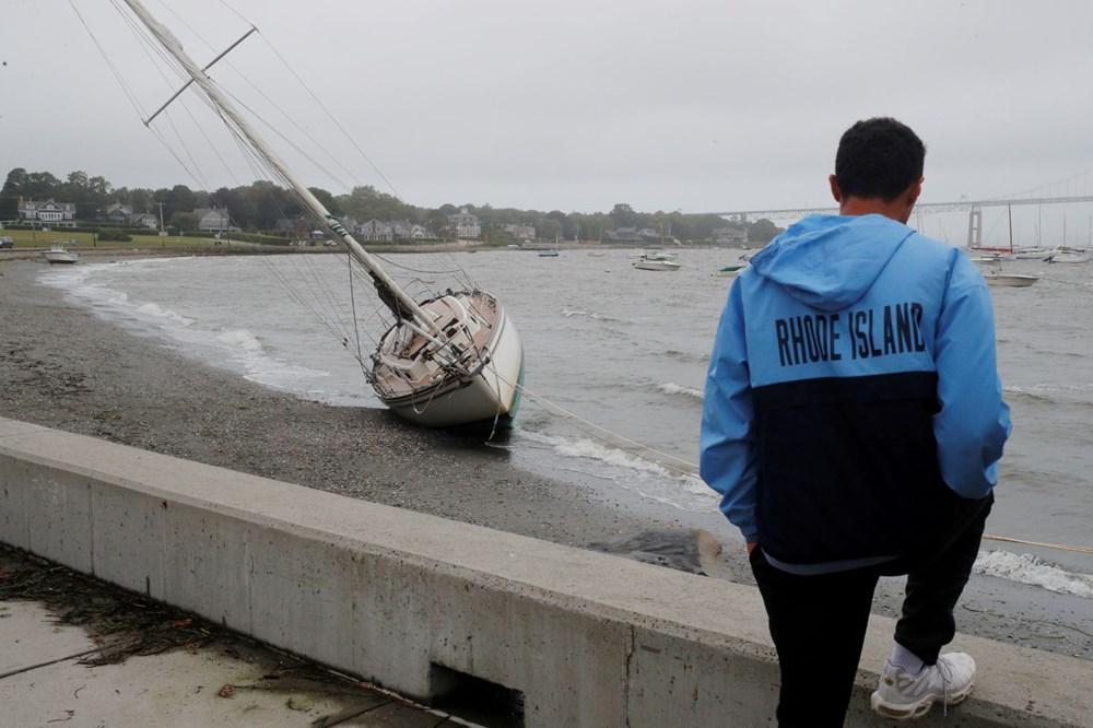 ABD'de Henri Kasırgası etkili oluyor: 140 bin haneye elektrik verilemiyor - 15