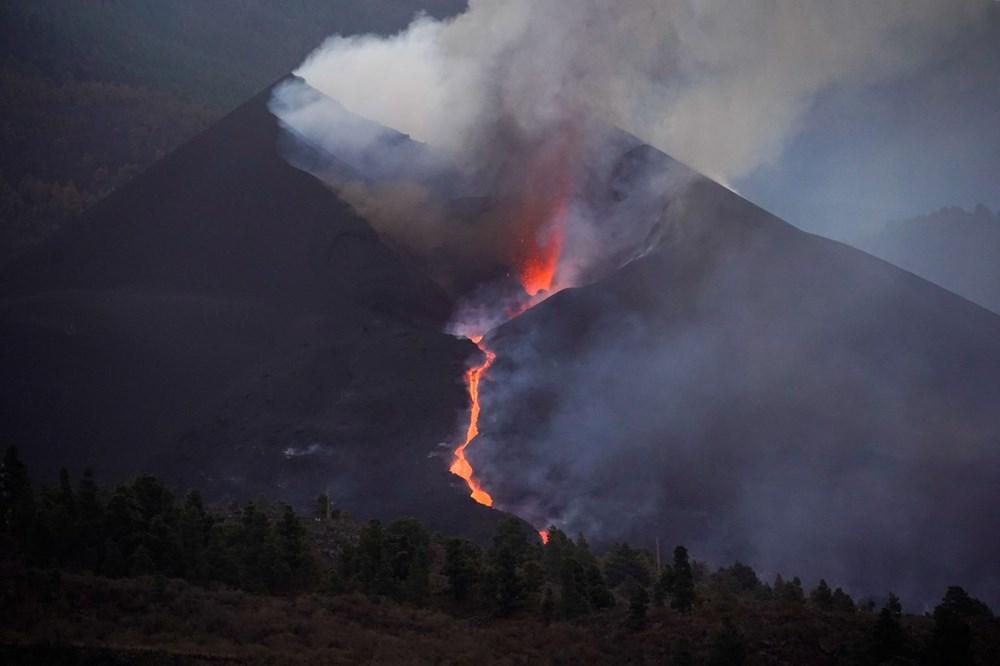 La Palma Yanardağı'nda lav akışı hızlandı: Onlarca ev daha yutuldu - 8