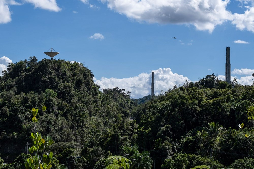 Porto Riko'daki Arecibo Gözlemevi çöktü - 2