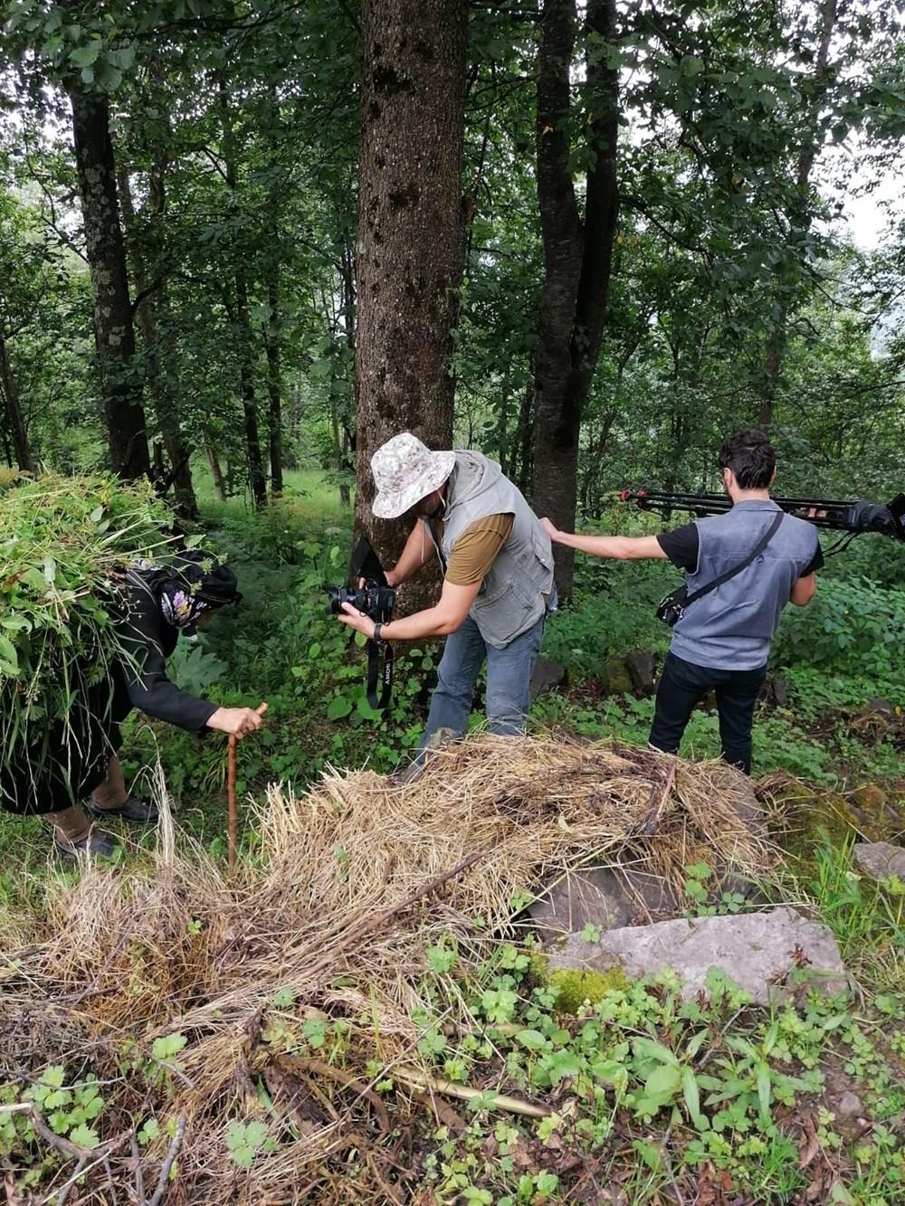 Yaylada tek başına yaşayan 'Robinson Nine'nin hayatı belgeselde - 5