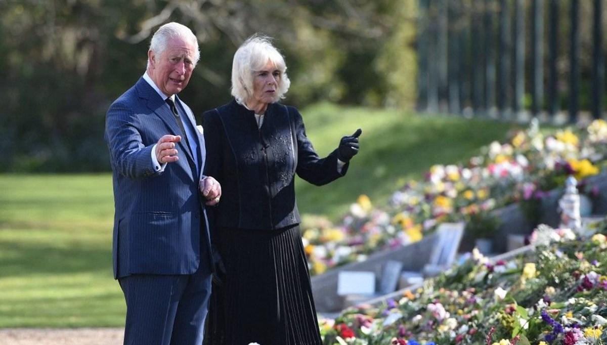 Prens Charles ve Düşes Camilla Prens Philip'in ölümünden sonra ilk kez görüntülendi