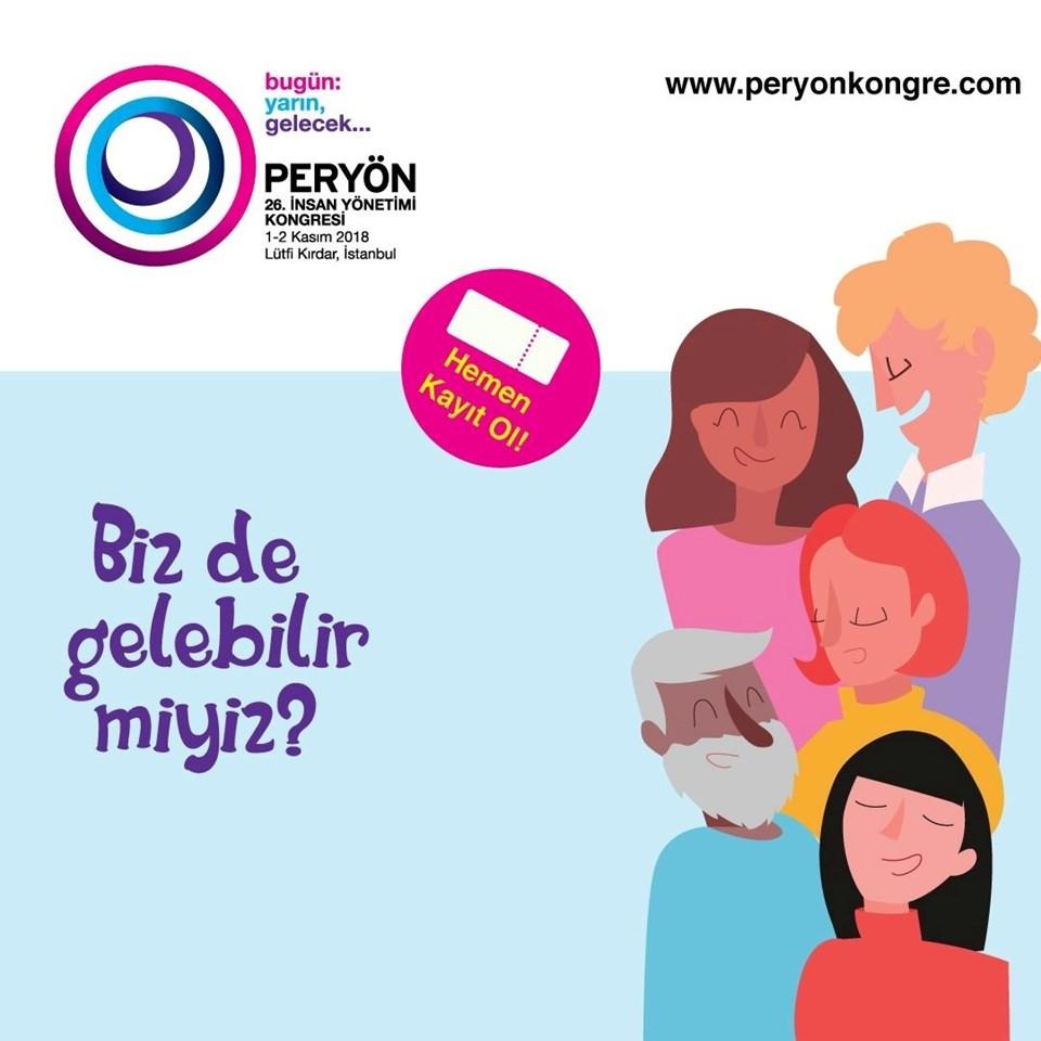 Lütfi Kırdar'daki PERYÖN İnsan Yönetimi Kongresi bu yıl 1-2 Kasım'da