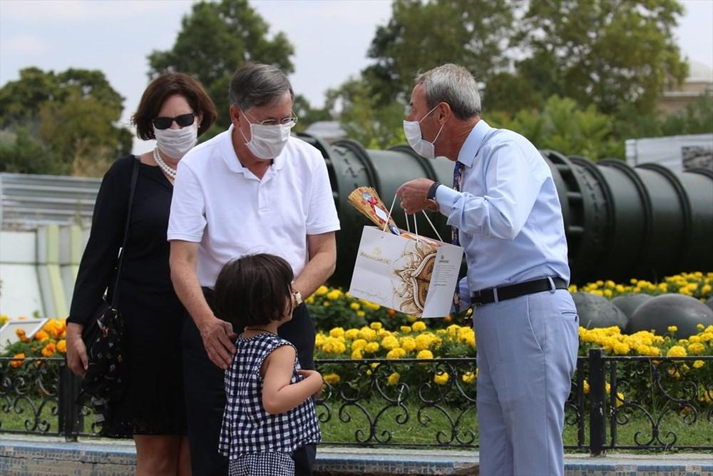 ABD'nin Ankara Büyükelçisi Satterfield ve ailesi Edirne'de - 5