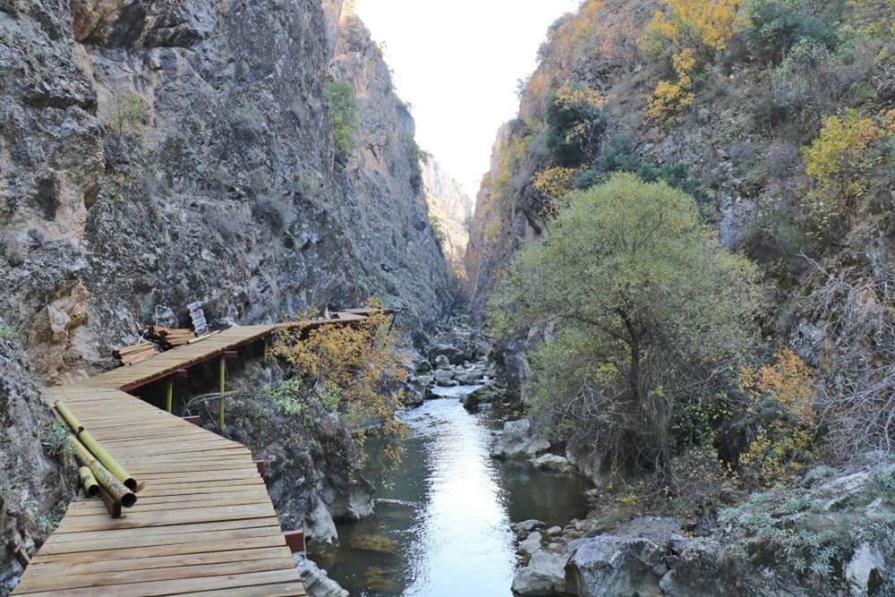 9 bin yıllık tarihin izleri gün yüzüne çıkıyor! Denizli'nin gizli cenneti Çal Kısık Kanyonu - 7