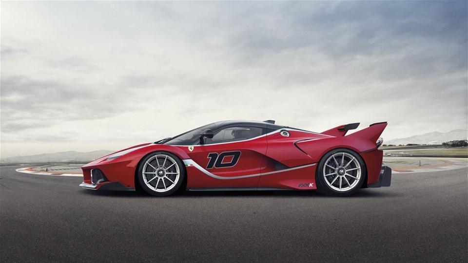 Ferrari'nin yeni oyuncağı