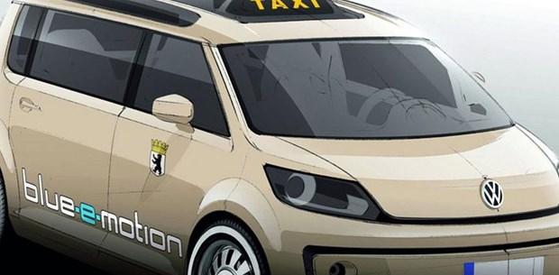 2008 Volkswagen Berlin Taxi Concept Car Pictures